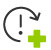 cycle-arrow-exclamation-and-plus_icon
