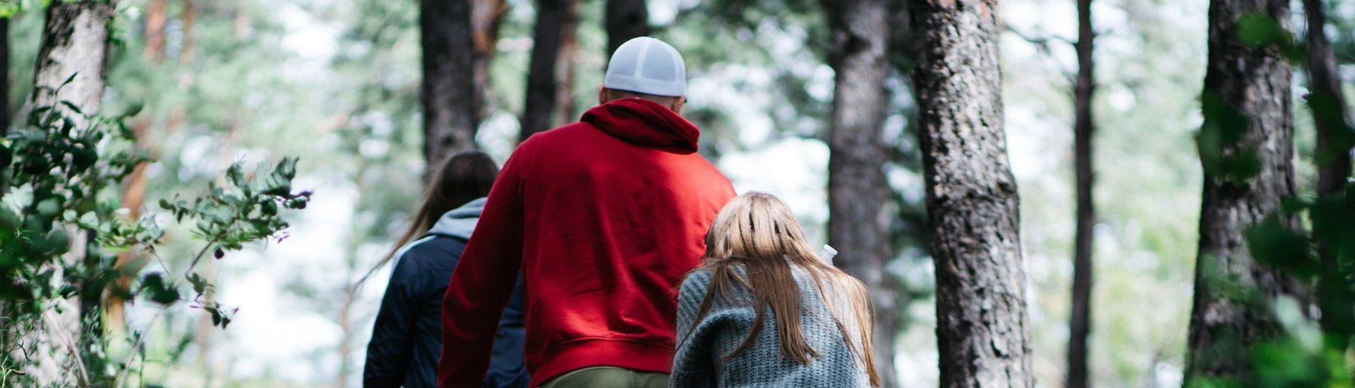 people-hiking-on-trail